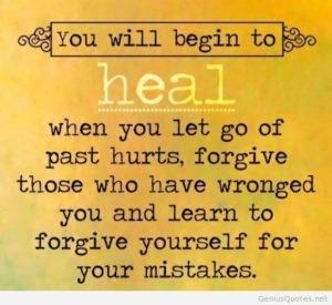 Forgiveness.What I've Learned